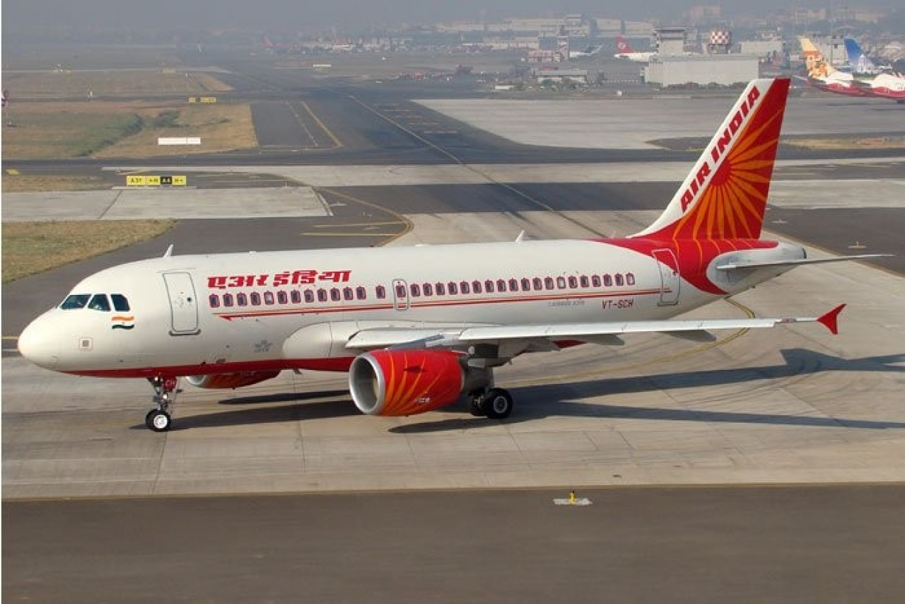 An Air India jet. (Sreenath y/Wikimedia Commons)