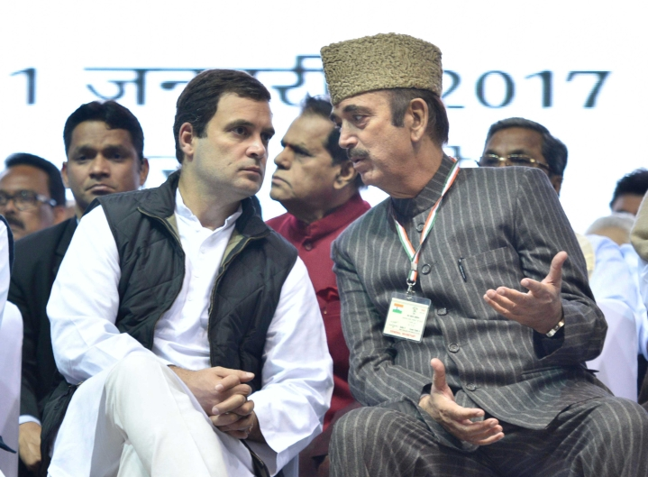 Congress' Ghulam Nabi Azad Accuses Army Of Killing More Civilians Than Terrorists, Says Govt Planning Massacre In Kashmir