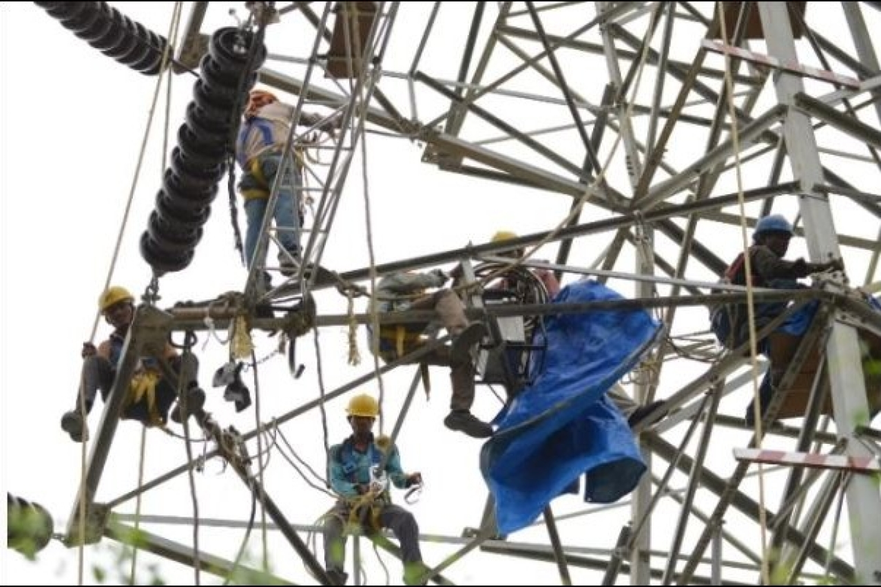 Maintenance of power supply systems.