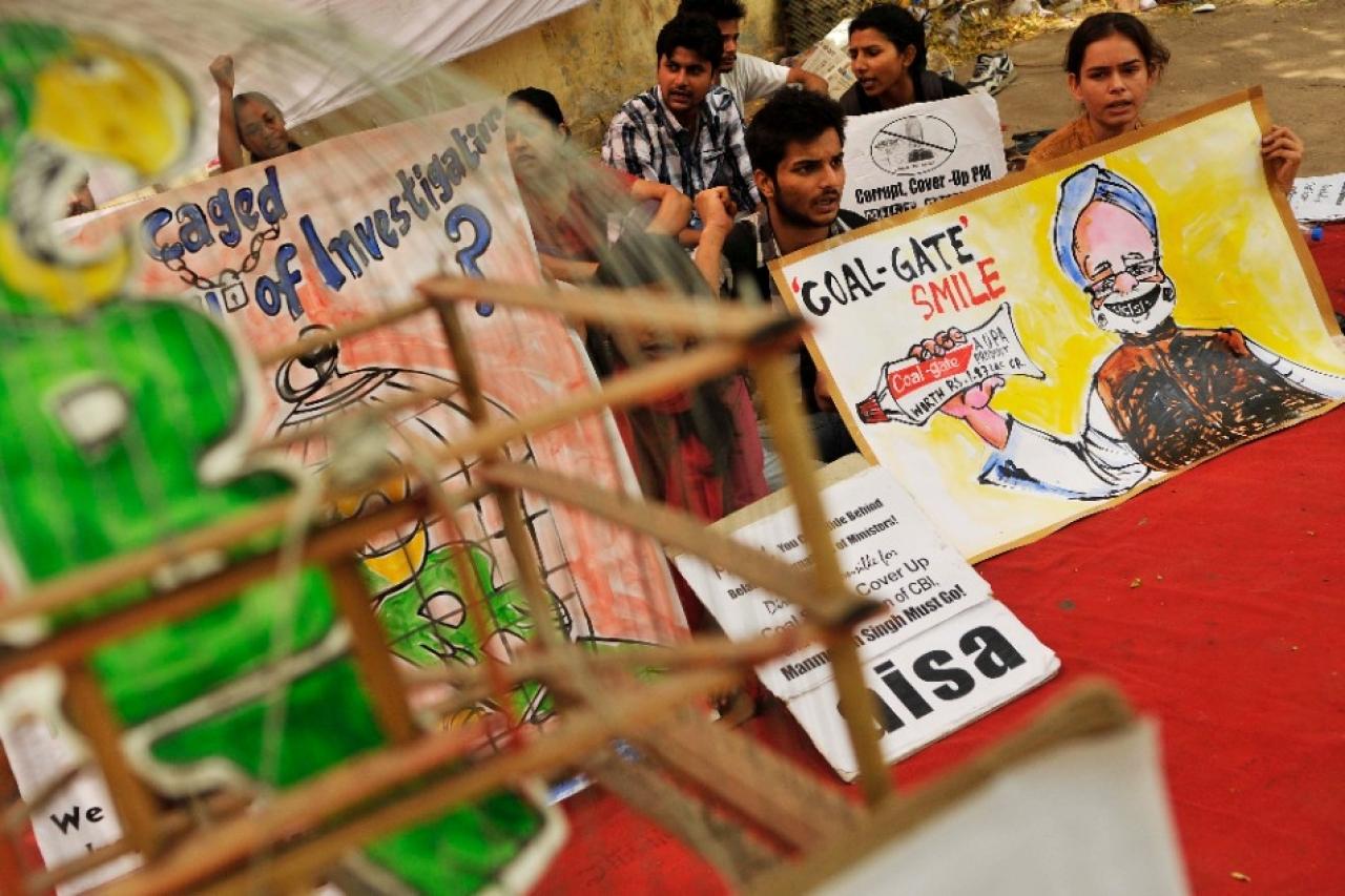 Coalgate scam(Arjit Sen/Hindustan Times/Getty Images)