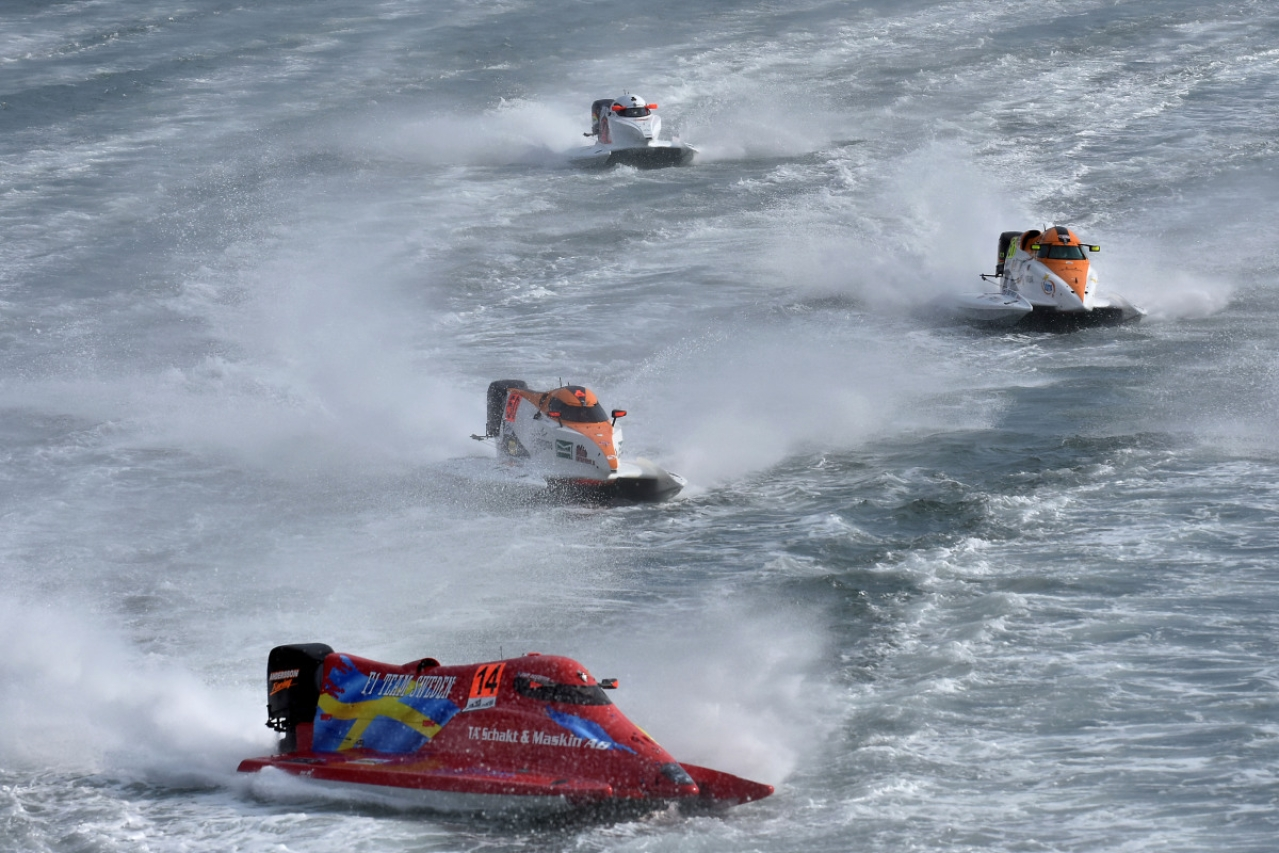 Centre Keen On Forumla One Powerboat Championship To Promote Tourism In Mumbai Cruise Circuit