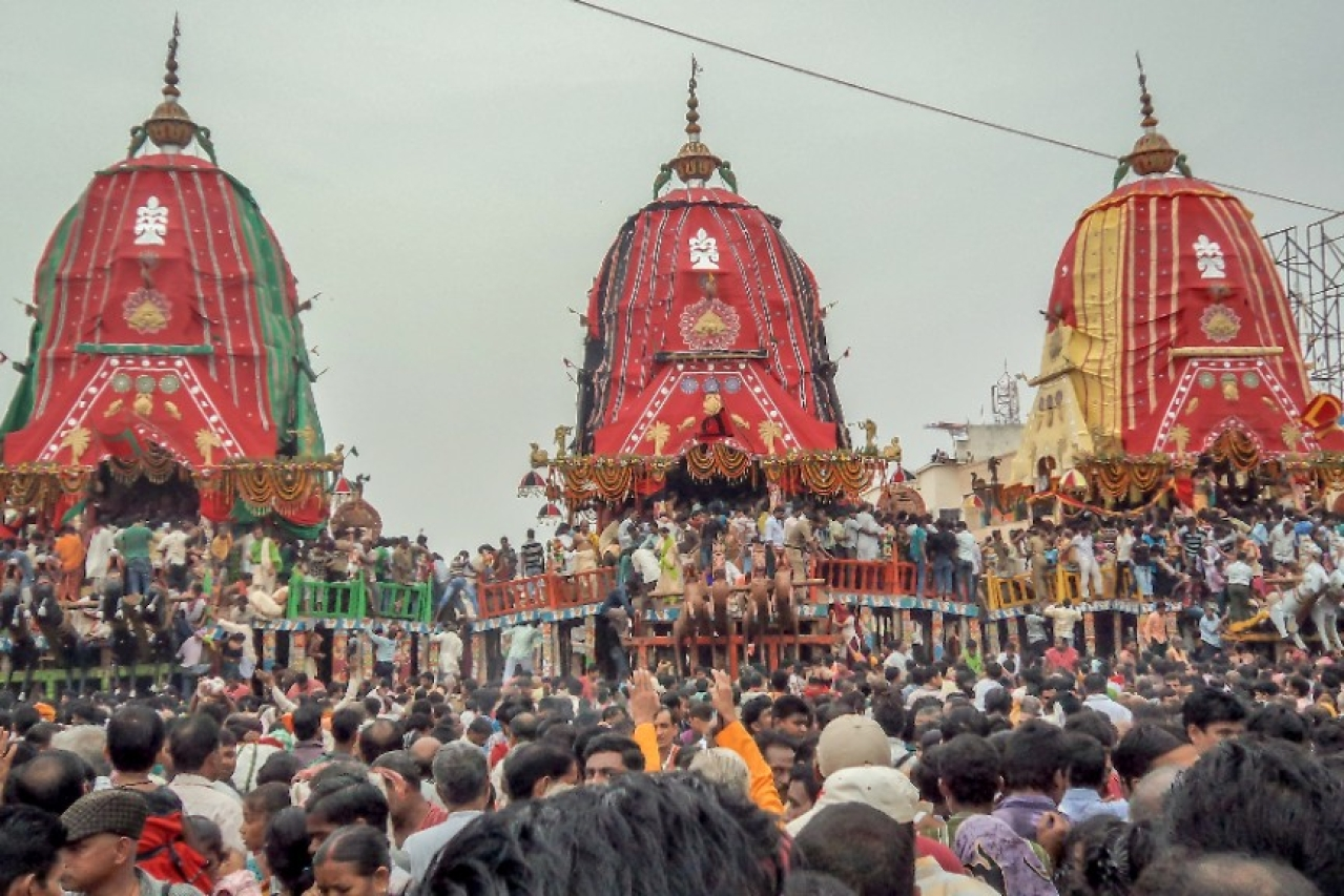 The Rath Yatra at Puri