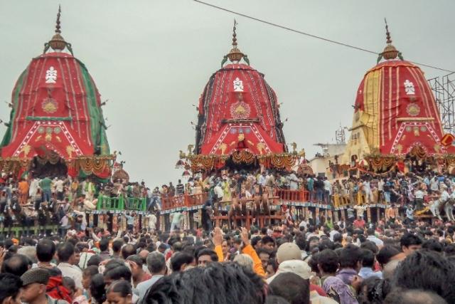 The Living Deities Of Puri