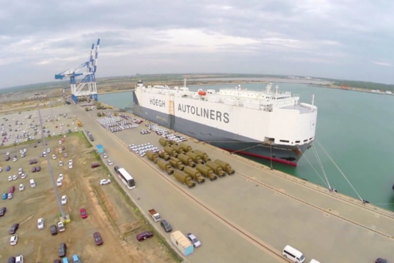 Sri Lanka's Hambantota Port, now under Chinese control