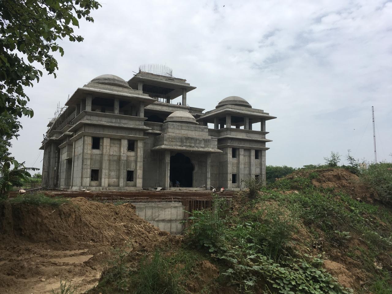 Work on ISKCON temple in Jyotisar is underway.