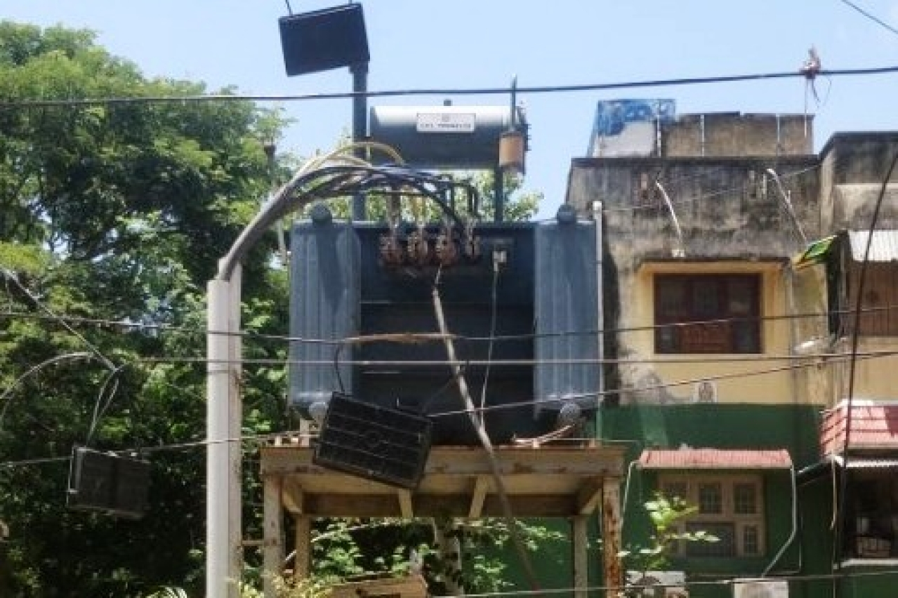 Modern transformers like these at Anna Nagar Western Extension in Chennai have replaced old ones, helping Tamil Nadu improve supply of electricity.