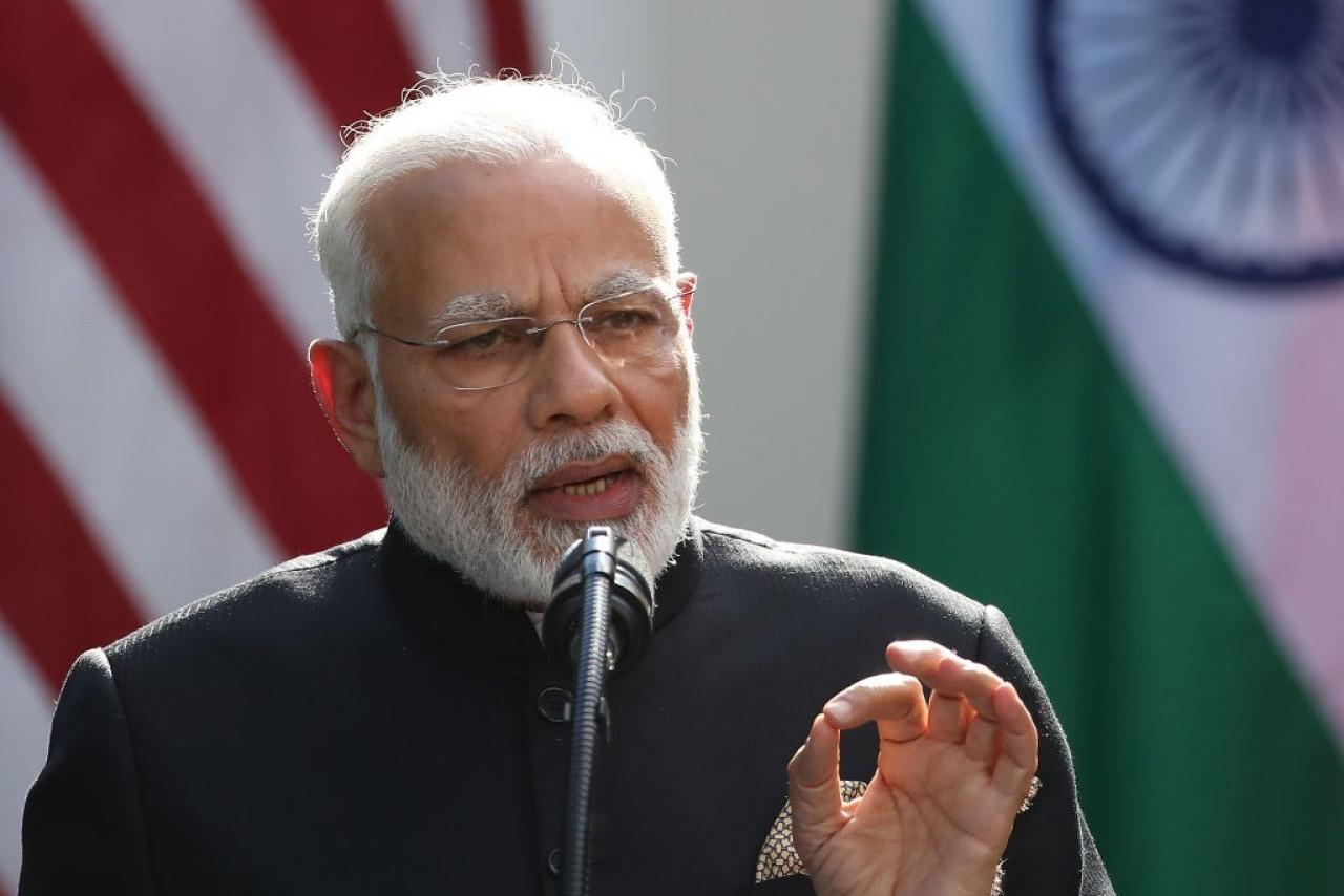 Prime Minister Narendra Modi. (Mark Wilson/GettyImages)