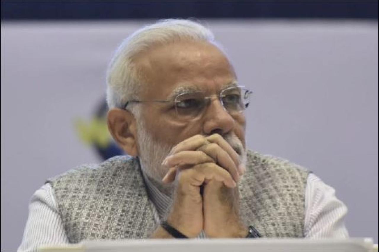 Prime Minister Narendra Modi. (Vipin Kumar/Hindustan Times via GettyImages)