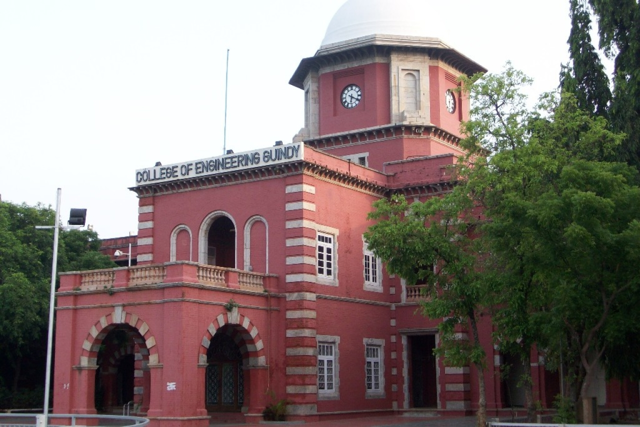 College of Engineering Guindy. (Wikimedia Commons)