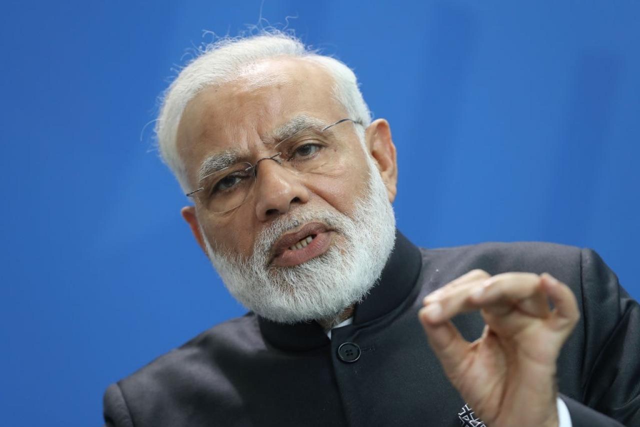 Prime Minister Narendra Modi. (Sean Gallup/Getty Images)