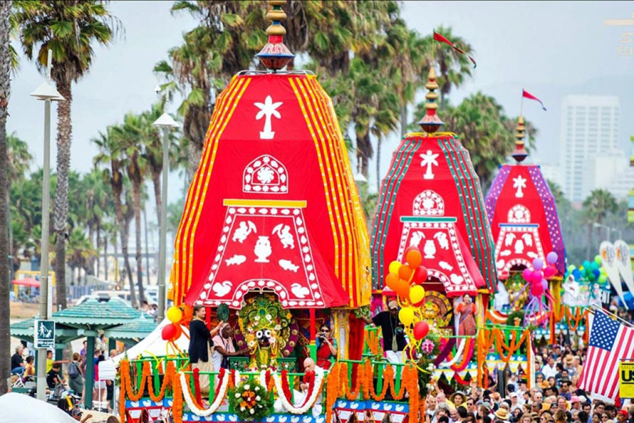 The Rath Yatra in Puri