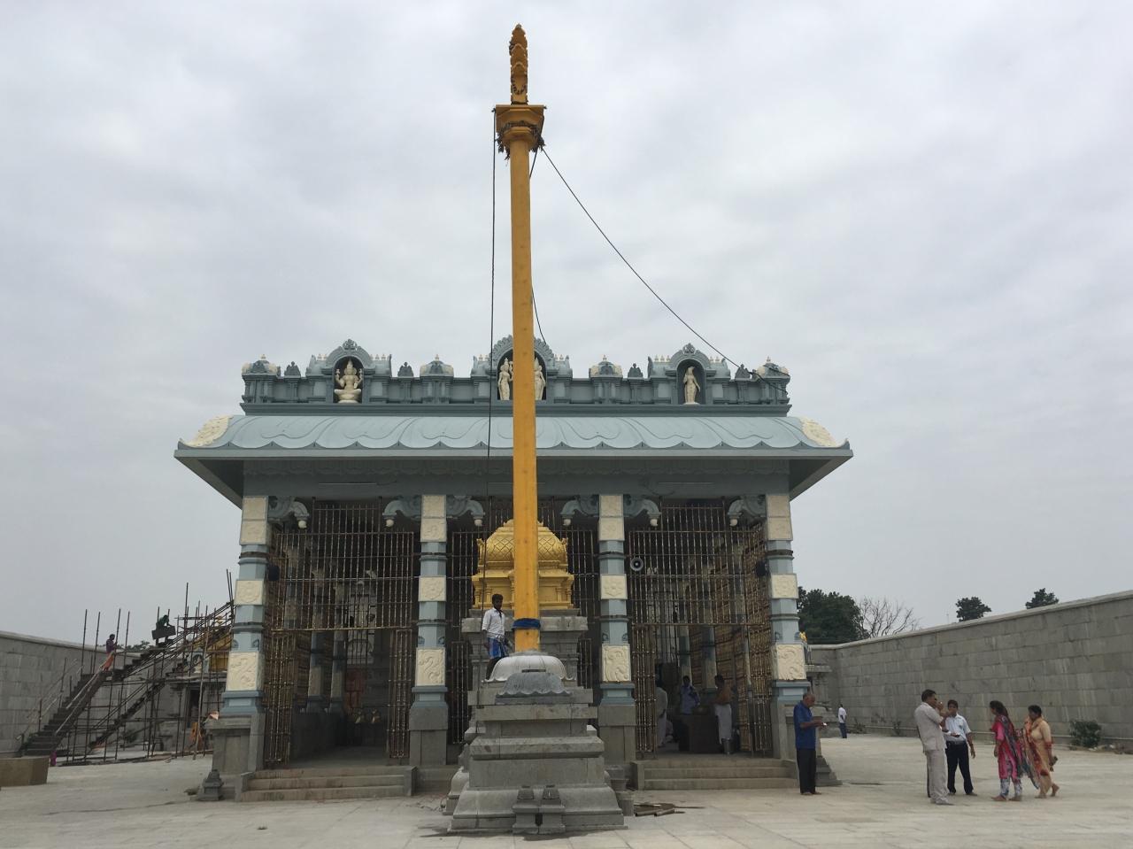 The newly-opened Shri Venkateshwara Tirupati Balaji temple in Kurukshetra