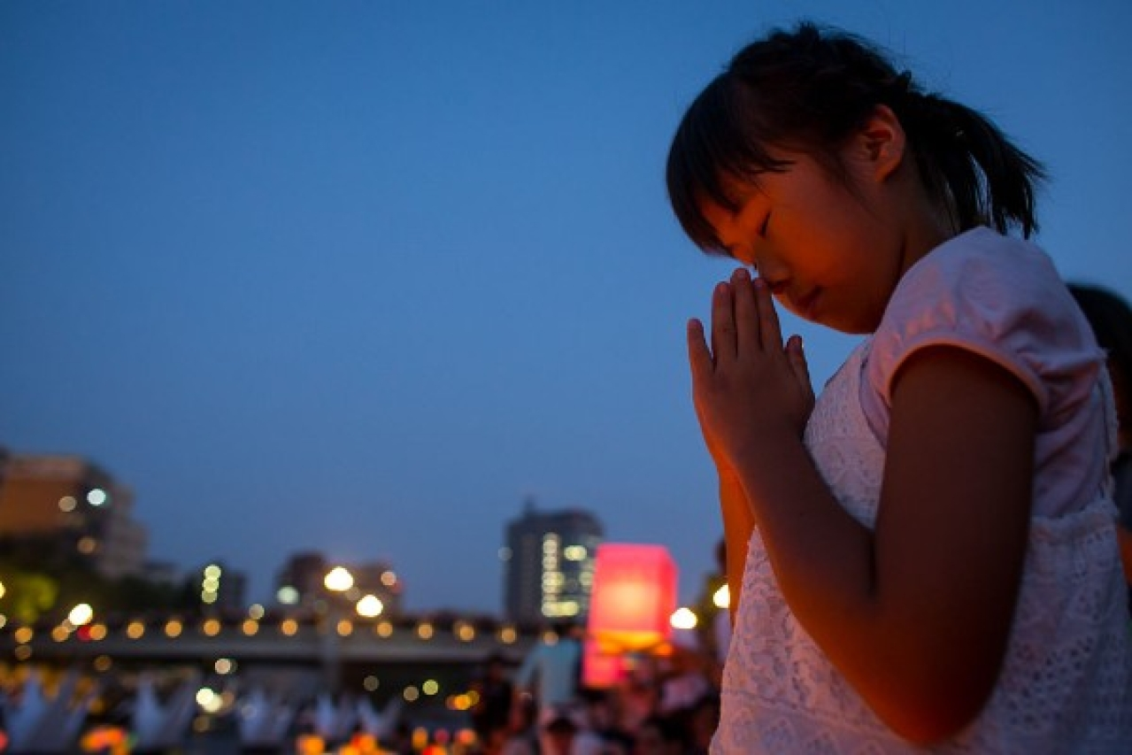 What the world needs today, more than ever, is peace. (Chris McGrath/Getty Images)