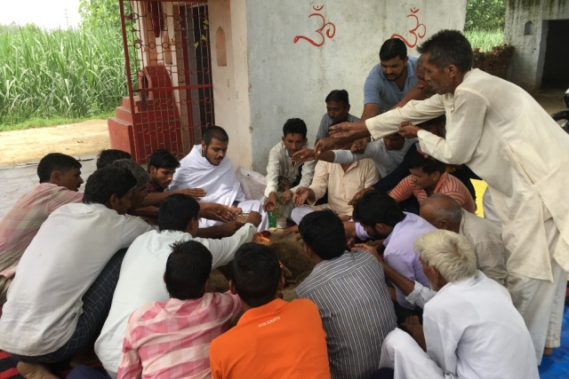 In The Very Temple They Were Denied Entry, Dalits Perform Havan, Say Won't Convert