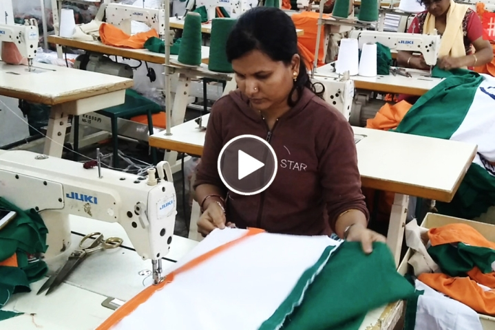 [Watch] The Indian Tricolour – Made By Women, For The Country