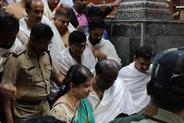 Hop, Skip And Temple Run: Karnataka CM Kumaraswamy Has Visited One Almost Every Second Day
