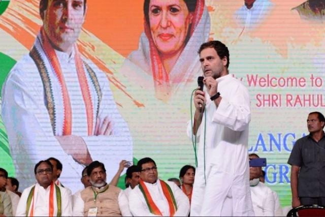 Scoring Another Self-Goal, Congress President Rahul Gandhi Criticises KCR For 'Family Rule' In Telangana