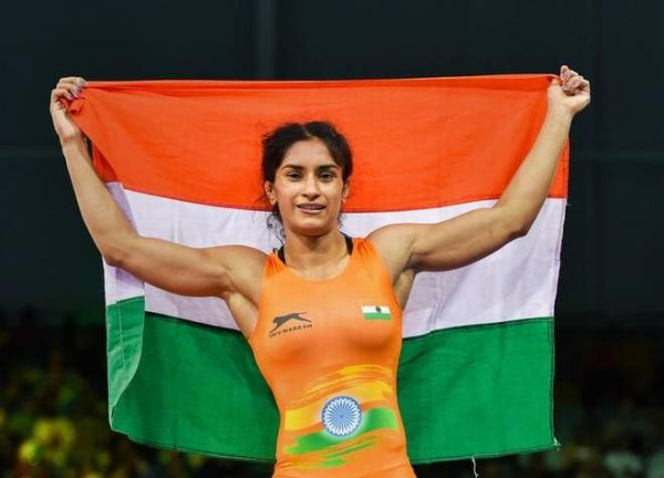 Vinesh Phogat Gives India Its First Women's Wrestling Gold Medal At Asian Games