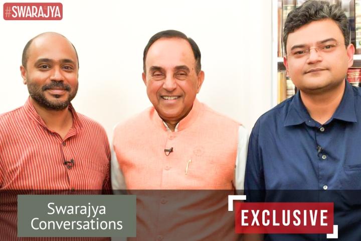 Exclusive: Swarajya Conversations With Rajya Sabha MP Subramanian Swamy