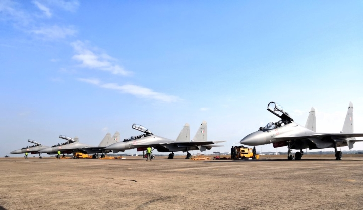 Watch: First Flight Of Indian Air Force's  Su-30MKI And C-130J During Exercise Pitch Black In Australia
