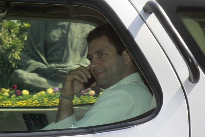 Rahul Gandhi Goes Mobile Again; This Time Asks Why PM Modi Did Not Buy His Phone From BHEL