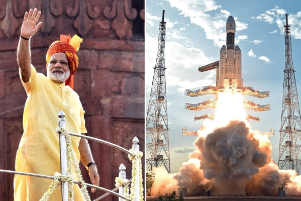 In I-Day Speech, Prime Minister Modi Announces India's First Human Spaceflight  By 2022