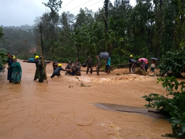 Flood Crisis Builds Up In Karnataka's Kodagu District, Experts Call It Man Made Disaster