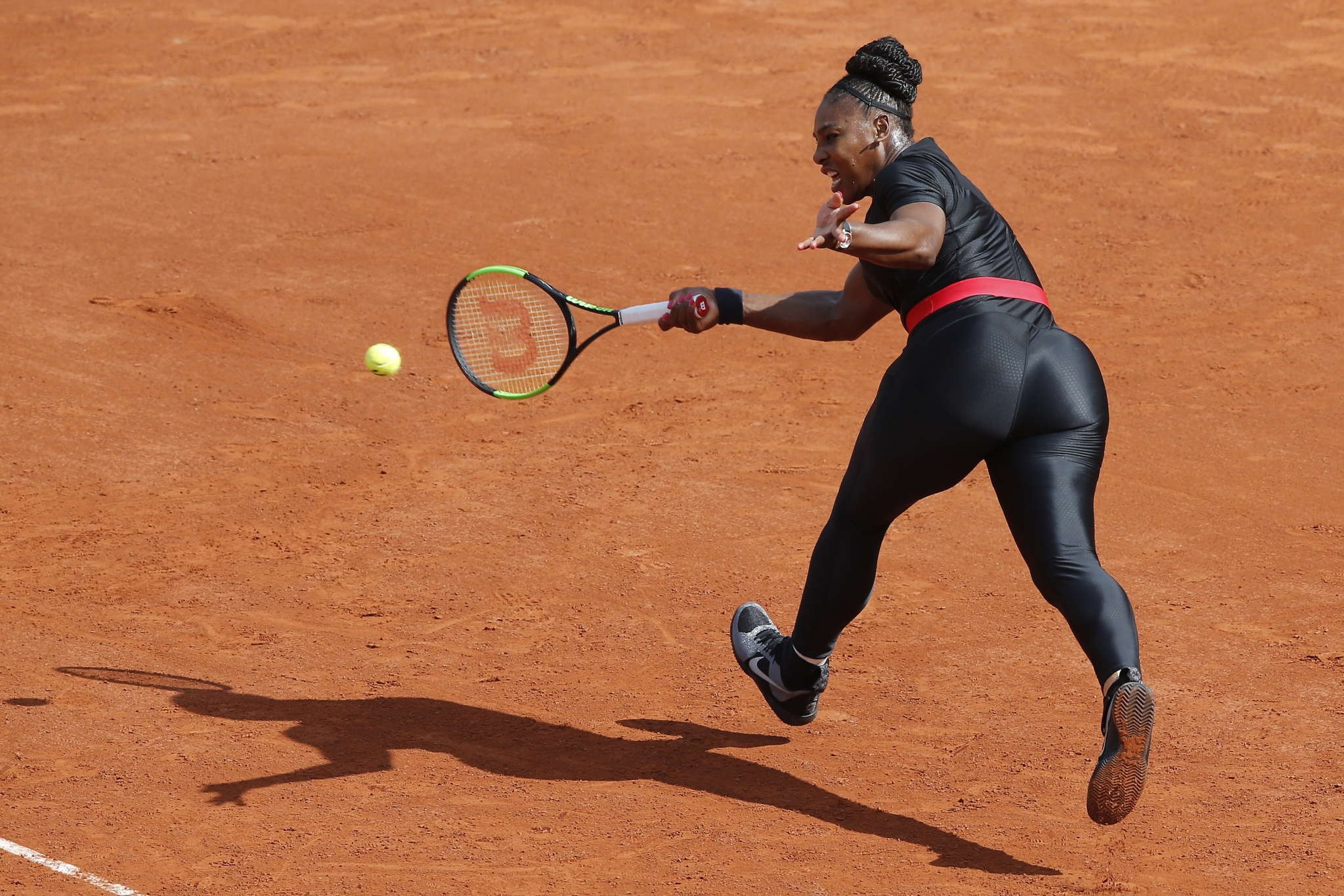 French Open bans Serena Williams from wearing black catsuit