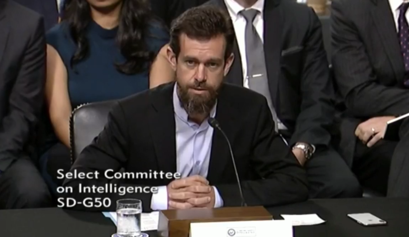 Twitter's Dorsey dodges question on whether Trump's tweets are abusive