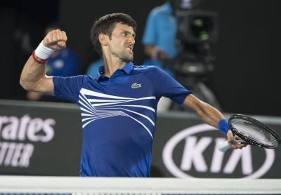 Dominant Djokovic shines in Melbourne Park opener