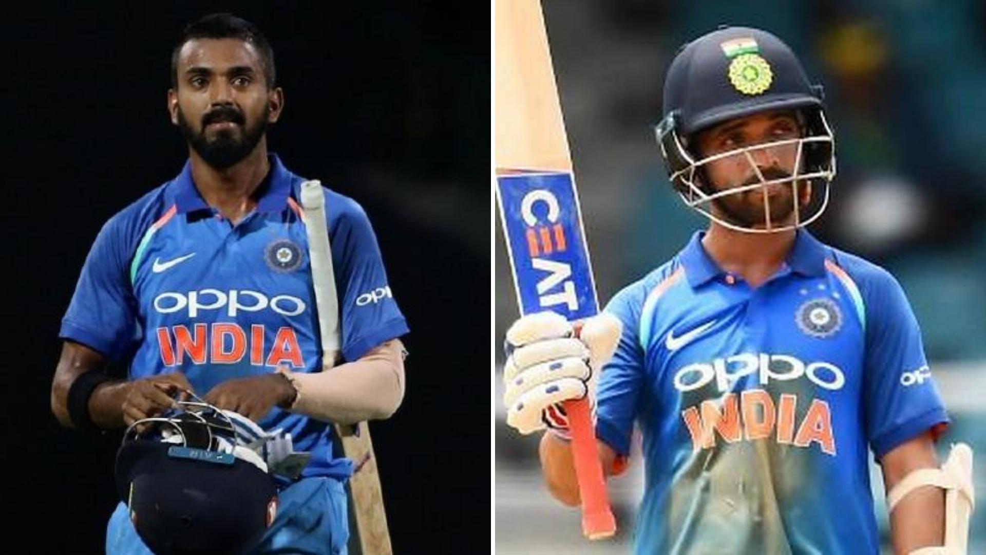 KL Rahul returns for Australia series; Karthik dropped