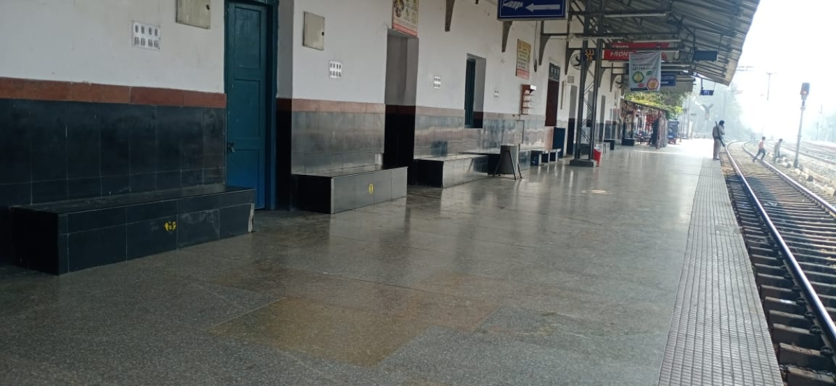 सुनसान पड़ा पटनासिटी रेलवे स्टेशन