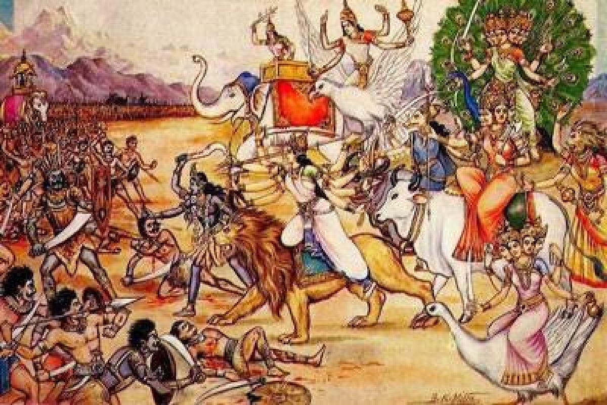 रोगों व परेशानियों से रक्षा करता है देवी कवच , हिंदी अर्थ सहित यहां पढ़ें संपूर्ण दुर्गा कवच