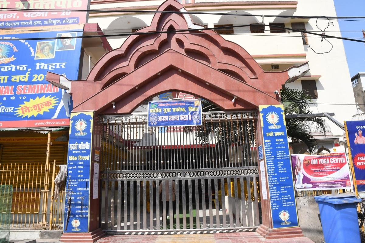 बंद रहे मंदिरों के दरवाजे