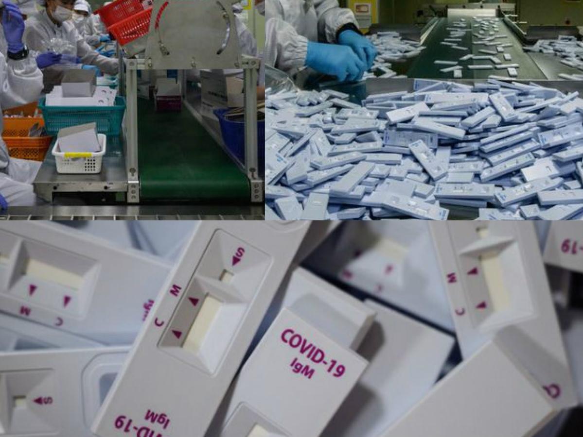 देखिए कैसा होता है Corona Test Kit, हर दिन 3.5 लाख किट बना रही ये फैक्ट्री