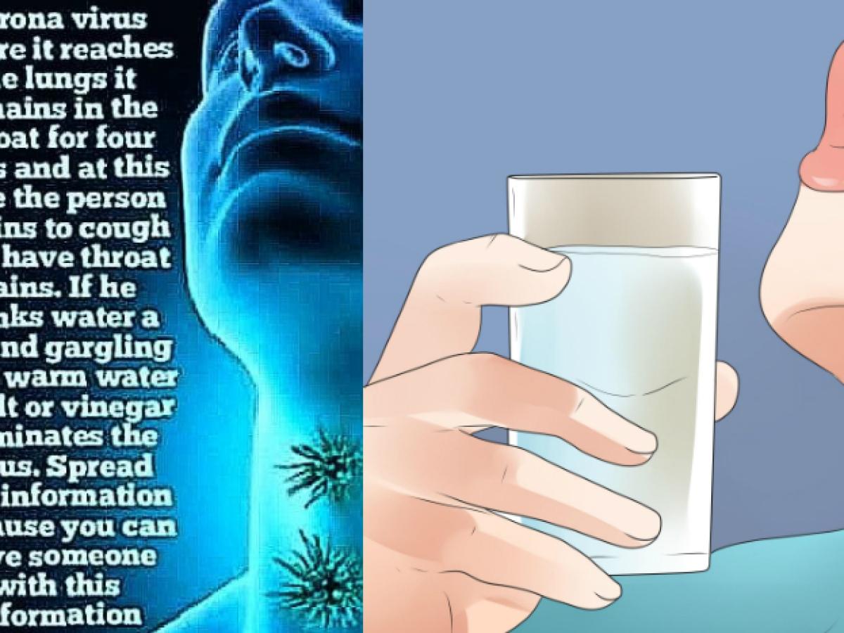 Fact Check: क्या गर्म पानी शरीर में मौजूद Coronavirus को कर सकता है समाप्त?