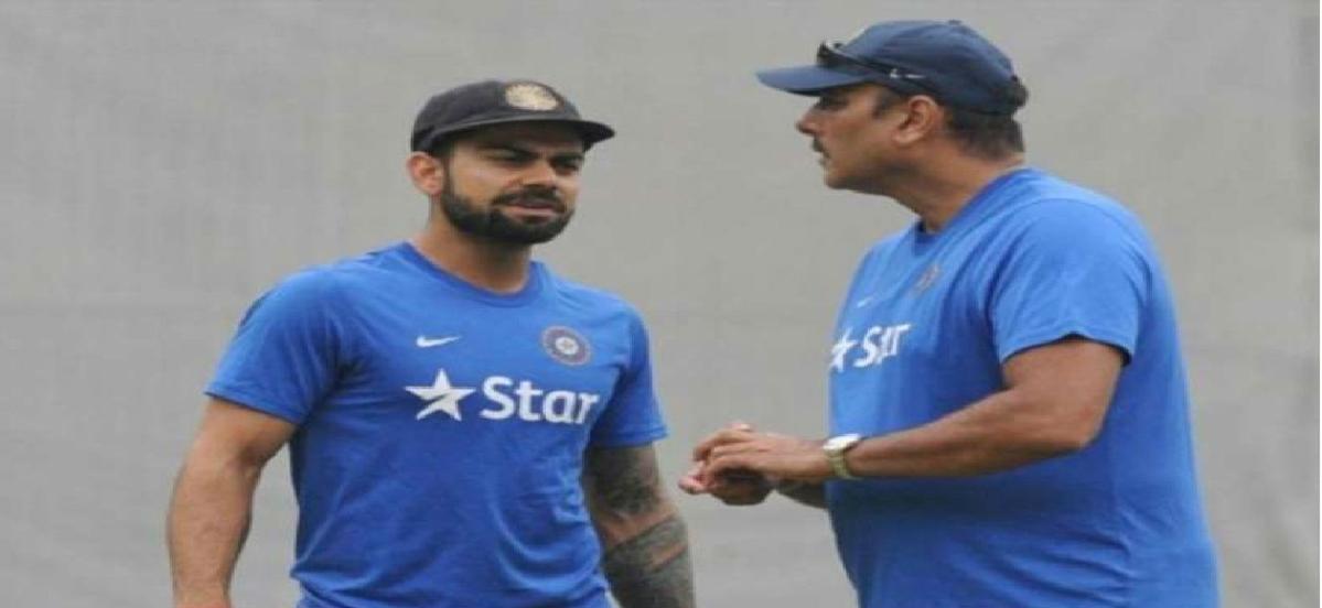 विराट कोहली भारतीय क्रिकेट का 'बॉस', कोच रवि शास्त्री का बड़ा बयान