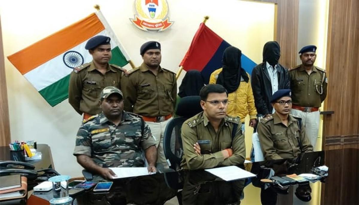 रामगढ़ : अपहरण कर हत्या करने जा रहे 3 अपराधियों को पुलिस ने दबोचा, सतर्कता ने बचायी शख्स की जान