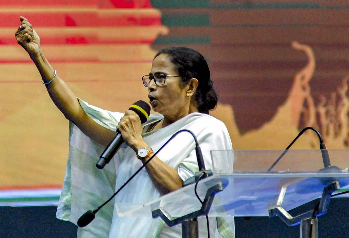 बंगाल में रह रहे सारे बांग्लादेशी भारतीय नागरिक हैं : ममता बनर्जी