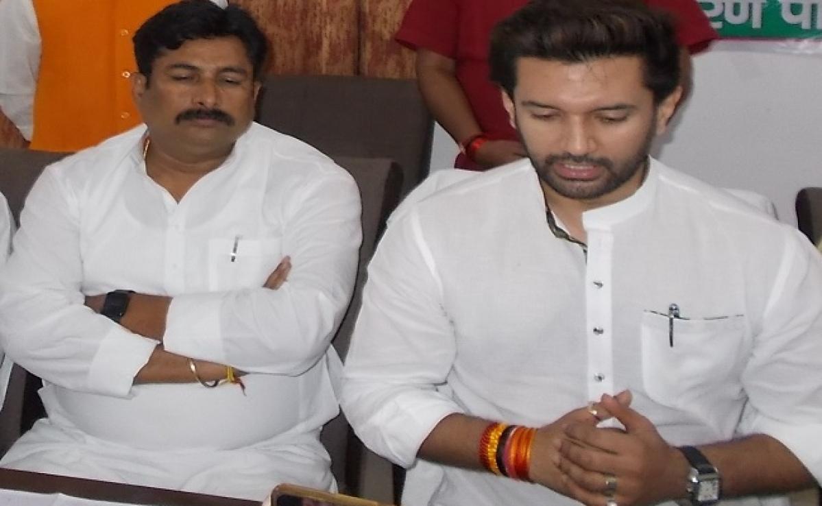 नीतीश कुमार बिहार में सबसे बेहतर विकल्प : चिराग पासवान