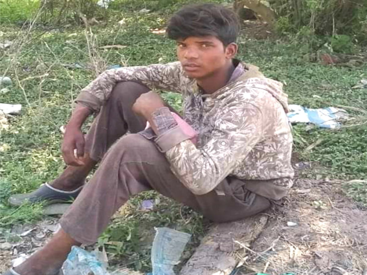25 दिन में पैदल तय की 1400 किलोमीटर की दूरी, दिल्ली से मध्यप्रदेश के लिए निकला गुड्डू ठाकुर पहुंच गया झारखंड