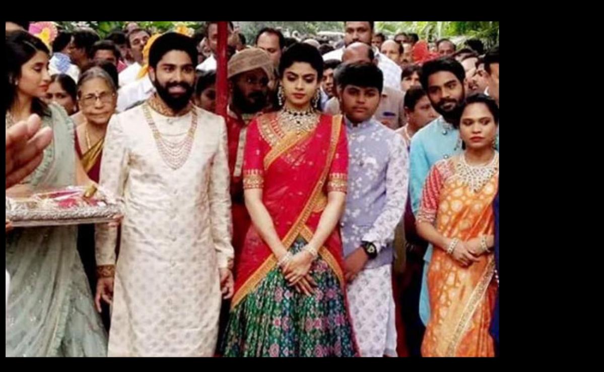 रक्षिता की शादी का समारोह तकरीबन नौ दिनों तक चलेगा,  500 पुजारी इस शादी को संपन्न करायेंगे
