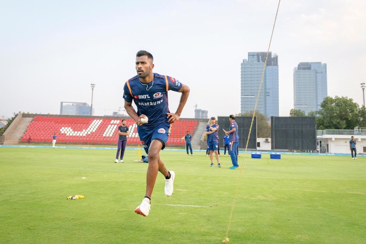 हार्दिक पांड्या टीम इंडिया में वापसी और आईपीएल की तैयारियों में जम कर पसीना बहा रहे हैं