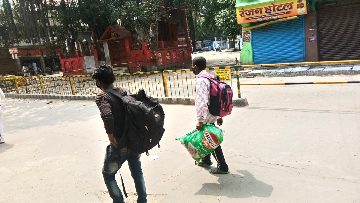 लॉकडाउन : मौत के खौफ पर भारी पेट की आग, पंजाब से बिहार पैदल आये दो युवक