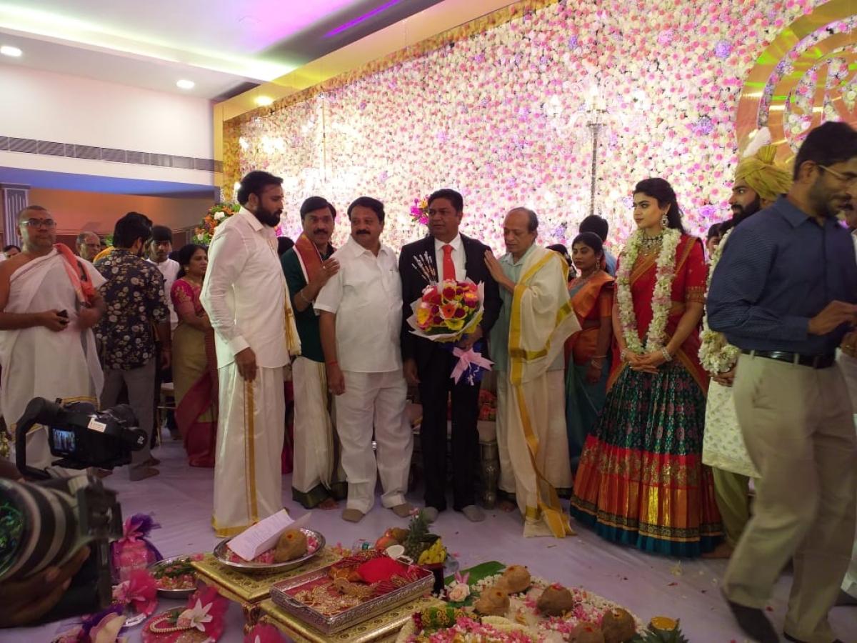 रक्षिता की सगाई भी शाही अंदाज में की गई थी