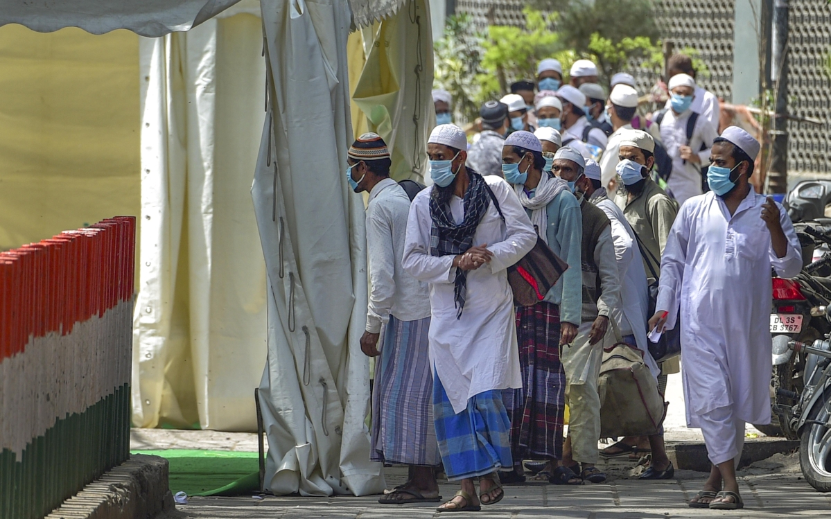 'तबलीगी' गतिविधियों में हिस्सा लेने के लिए इस साल करीब 2100 विदेशी भारत आये