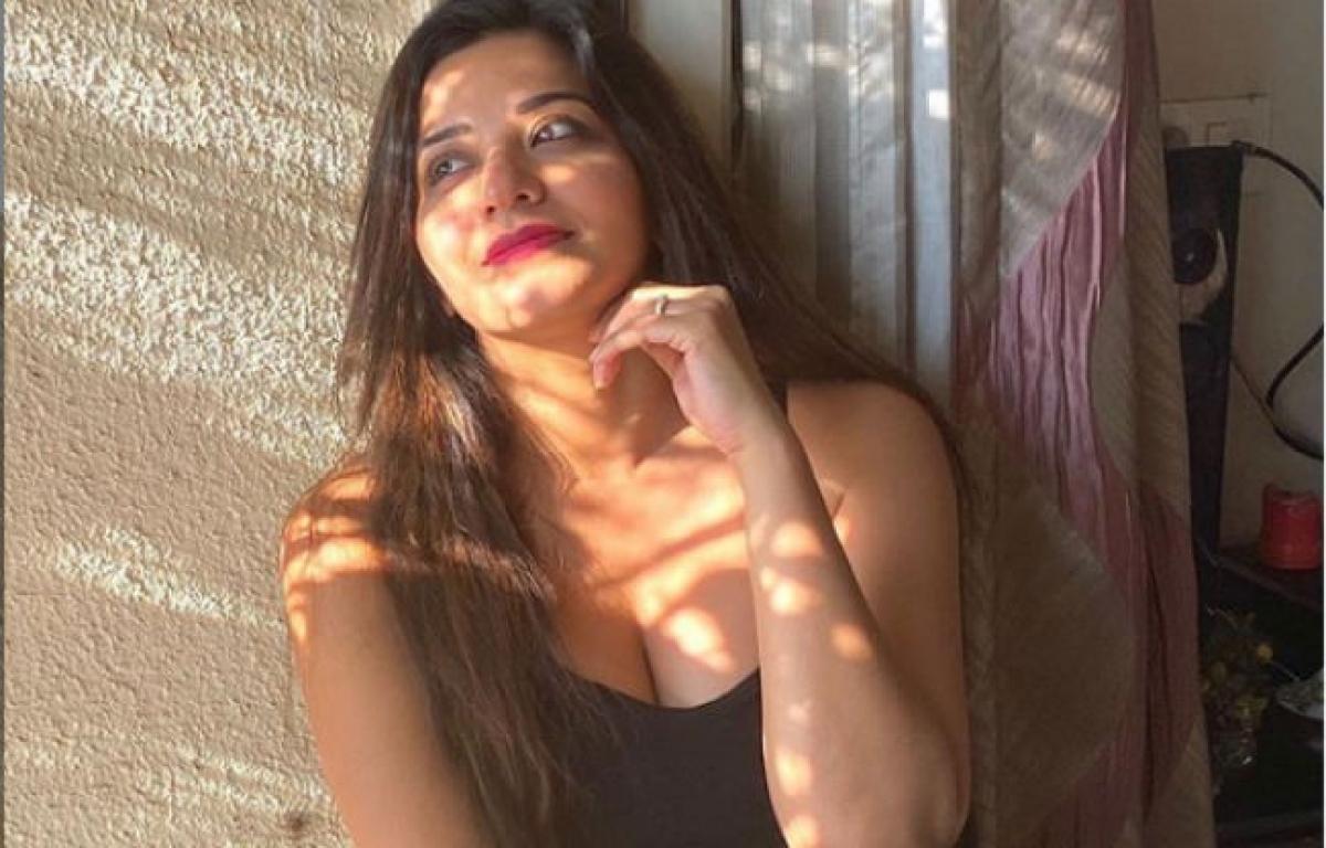 Monalisa का दिलकश अंदाज, इस Tiktok वीडियो से मचाया धमाल