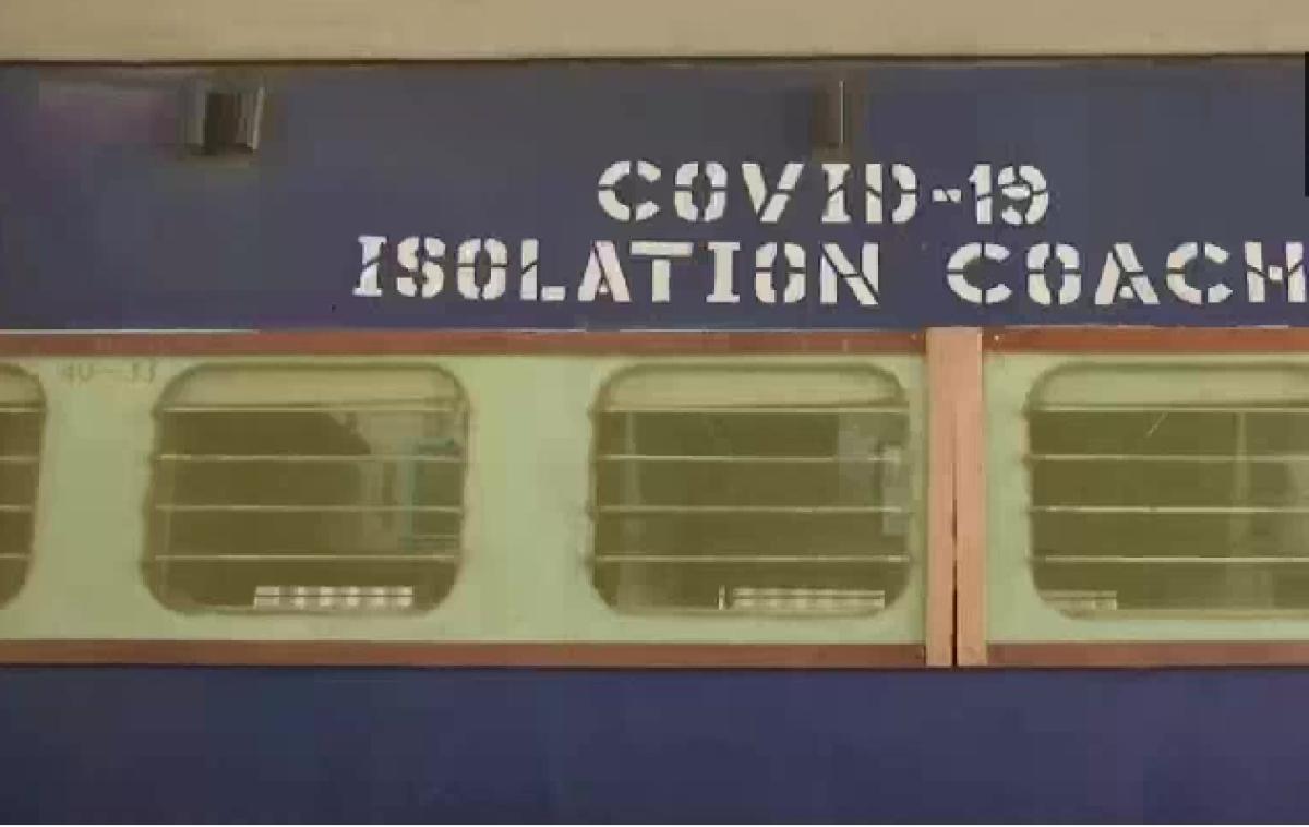 कोरोनावायरस को लेकर रेलवे की तैयारी, पटना के राजेंद्र नगर टर्मिनल पर बना रहा है 'आइसोलेशन कोच'