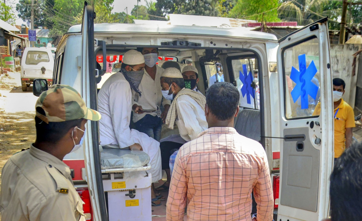 VIDEO : निजामुद्दीन मरकज में शामिल कोरोना संक्रमित ने की आत्महत्या की कोशिश, सुरक्षा कड़ी