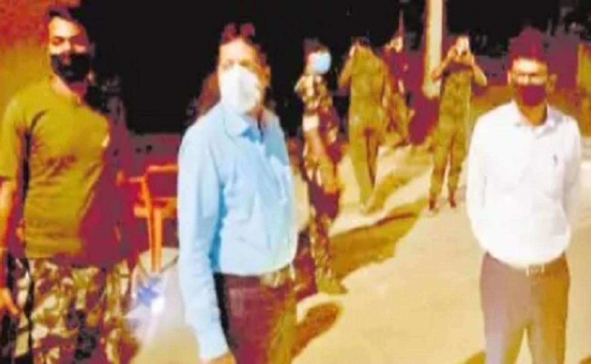 जिले के सीमावर्ती इलाकों में बढ़ी चौकसी, दूसरे राज्यों से आये 172 लोग भेजे गये क्वारंटाइन केंद्र